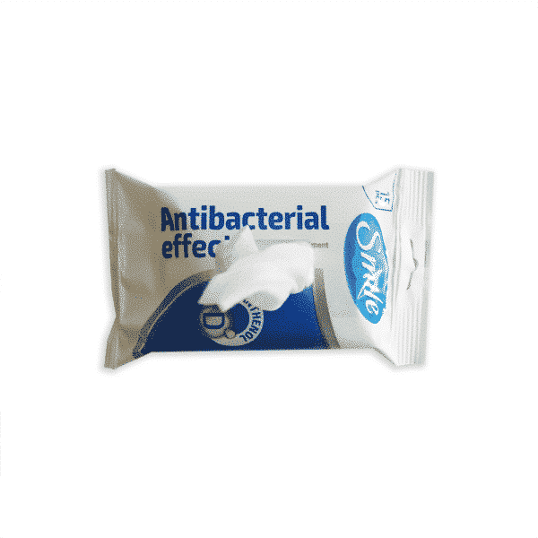 Antibakteriaalsed niisked salvrätikud Smile Medkeskus avatud