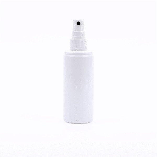 Valge pihustiga pudel desinfitseerimisvahendi kasutamiseks 100ml