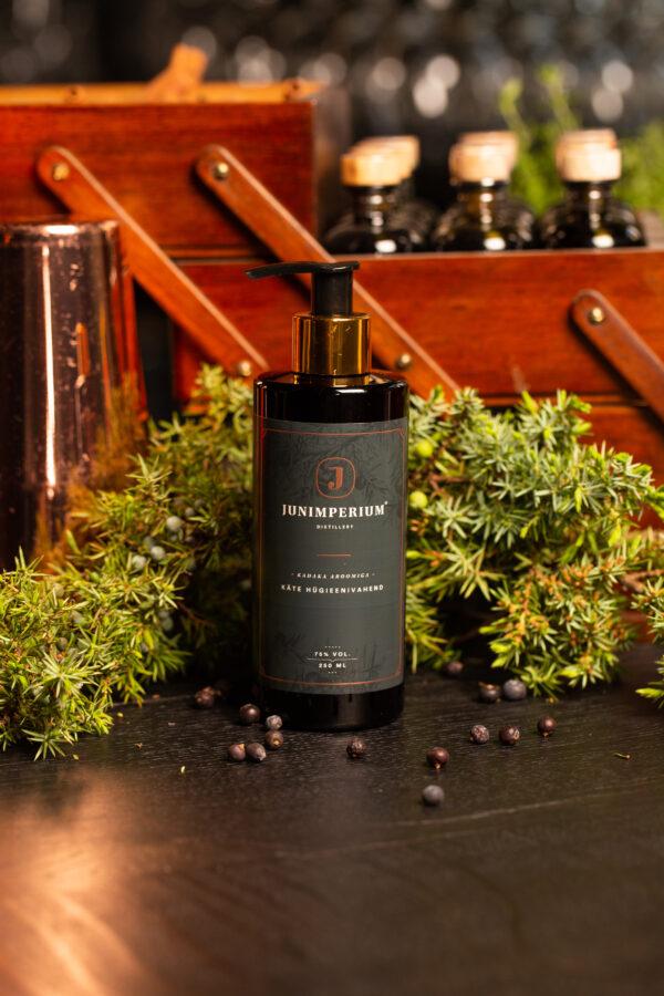 Junimperium käte hügieenivahend kadaka aroomiga Medkeskus tootepilt