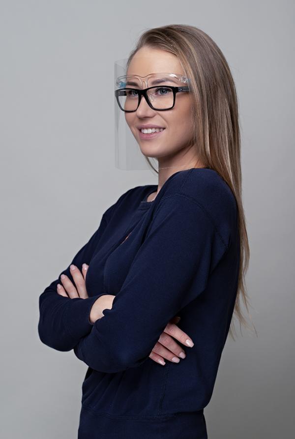 Prillvisiir kaitsevisiir viisir sobib ka prillide kandjatele