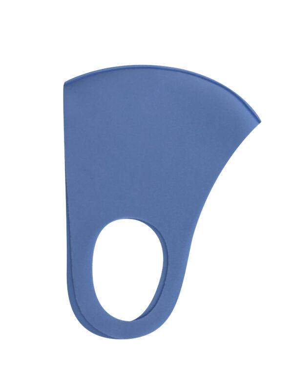 Korduvkasutatav ja elastne näomask sinine
