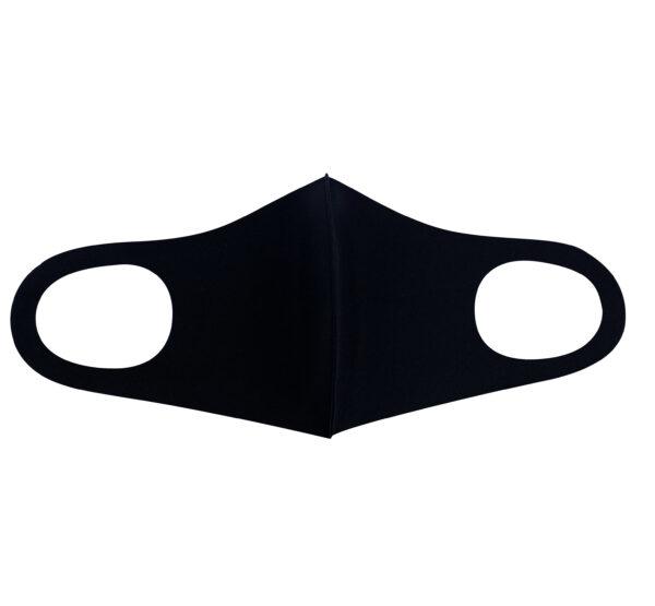 Korduvkasutatav ja elastne näomask must