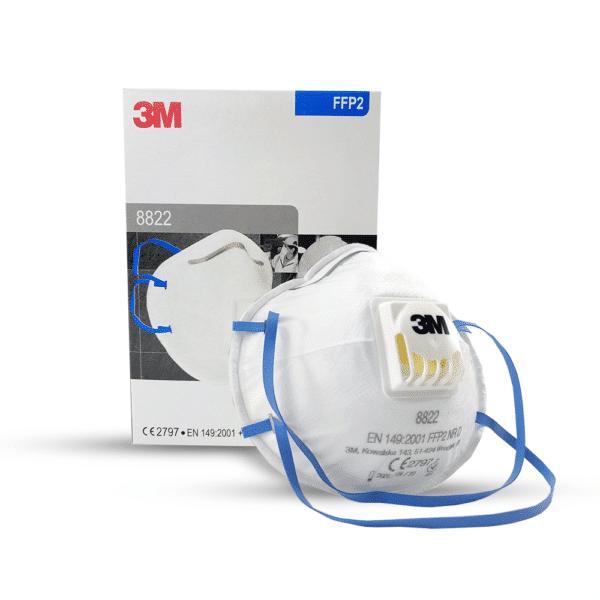 3M kaitsemask 8822 respiraator FFP2 näomask Medkeskus