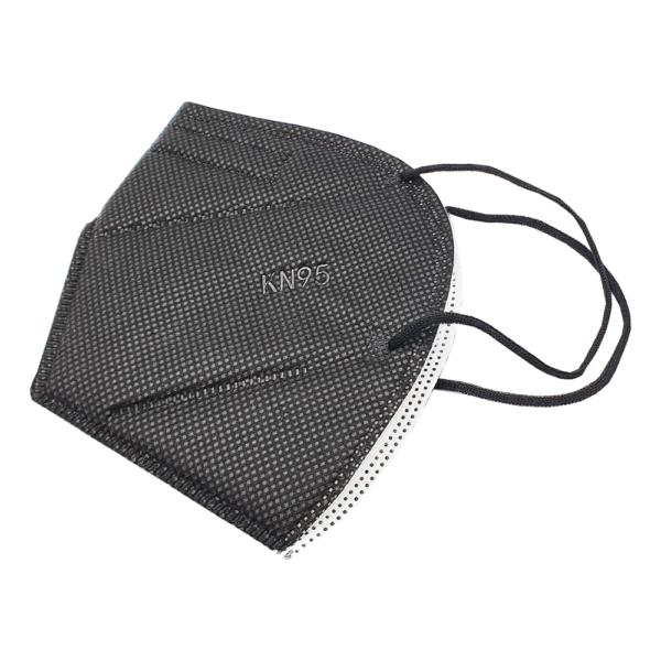 KN95 musta värvi kaitsemask mask