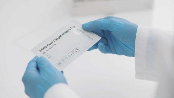 Antigeeni kiirtest SARS-CoV-2 kinnastes Medkeskus
